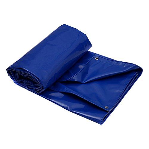 Blaue Plane-Waterproof Heavy Duty Tarp Blatt / 650g / m² Plane für Camping, Angeln, Gartenarbeit & Haustiere-100{6108d2c3622f12542056c3ecf299ad662fea75a55fd0ac1e24973e0b960bfca3} wasserdicht und UV-geschützt -Abdeckplanen (größe : 4X3M)