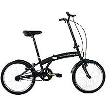 Frejus Norwich bicicletta pieghevole, 20'', Nero