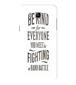 EPICCASE Hard Battle Mobile Back Case Cover For Samsung J5 2016 (Designer Case)