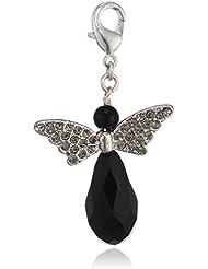 Pilgrim Jewelry Damen-Anhänger aus der Serie Mega Charm versilbert grau 5.5 cm 411246102