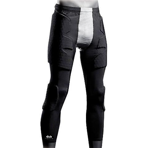 McDavid, Pantaloni da portiere Hex Pro Style Uomo 3/4 Guard II, Nero (Schwarz/Grau), L