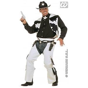 WIDMANN wid39133?Disfraz para adulto Cowboy, multicolor, L