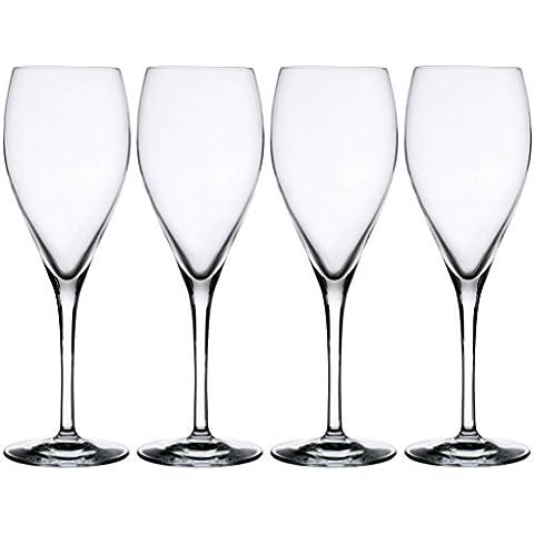 Le Cordon Bleu–Juego de 4copas de champán