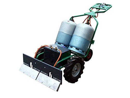 2EBALM Machine de désherbage Charoflam 3760113030338 Vert/Noir/Orange 90 x 80 x 90 cm 40200