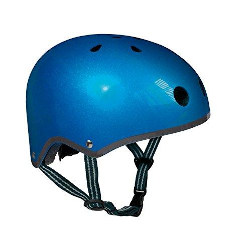 Micro Mobility AC2037 Helm, Blau, 53-57cm -