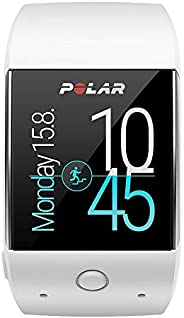 Polar M600 Fitness Tracker Smart Watch with 6 LED Optical HR Sensor - White