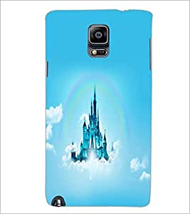PrintDhaba Flying Castle D-2313 Back Case Cover for SAMSUNG GALAXY NOTE 3 (Multi-Coloured)