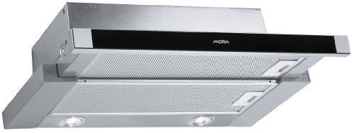 Mora OT 631 GX Fully built-in cooker hood Acero inoxidable 370m³/h -...