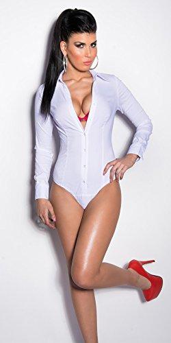 Sexy Business Bodybluse Koucla by In-Stylefashion SKU 0000G-771701 Weiß