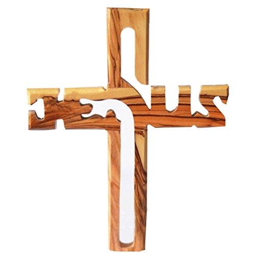 indiabigshop-cadeau-fete-des-meres-bois-jesus-croix-mur-suspendre-bois-de-pin-mur