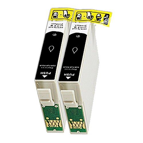2 Druckerpatronen Tinte für Epson Stylus Office BX305 F BX305FW SX 525WD SX 620FW ersetzen T1291