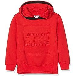 LEGO Wear Boy Sebastian 719, Sudadera para Niños, Rojo (Red 365), 10 años