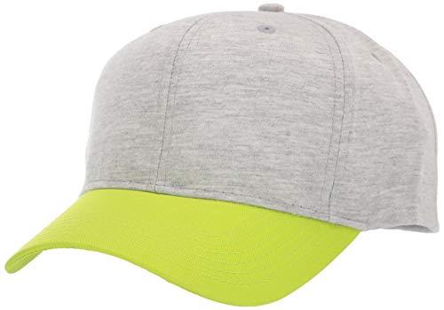AquaGuard Herren TM36-TT120-Jersey 2-Tone Cap Kappe, Heather Grey/Soft Pink Mar, Einheitsgröße -