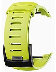 Bracelet silicone pour D4 D4i D4i Novo Suunto - Citron vert