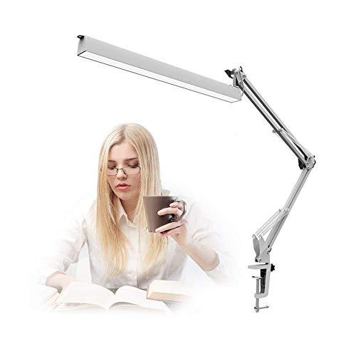 A16 LED lámpara de escritorio, swing brazo arquitecto lámpara, mesa de redacción abrazadera de la lámpara