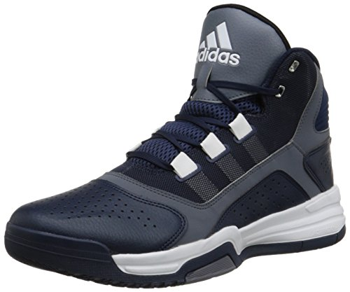 Adidas Performance Amplify Basketballschuh, schwarz / grau / weiÃ?, 7 M Us Collegiate Navy Blue/Grey/White
