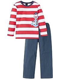 Schiesser Jungen Zweiteiliger Maritim Knaben Schlafanzug Lang