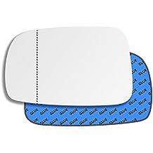 Hightecpl 717LAS Repuesto de espejo retrovisor para puerta de lado izquierdo, lado cercano, gran