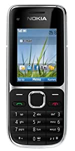 Nokia C2-01 Sim Free Mobile Phone 3G - Black