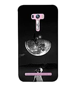 Go Yankee night moon scene back Cover For Asus Zenfone Selfie