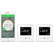 Drayton Wiser Smart Thermostat Dual Zone Heating and Hot Water Control - Works with Amazon Alexa, Google Home, IFTTT