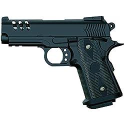 rayline Pistolet Airsoft Full Metal V15 (Pression Manuelle du Ressort), réplique à l'échelle 1: 1, Longueur: 18,5 cm, Poids: 360g (Moins de 0,5 Joules - à partir de 14 Ans)