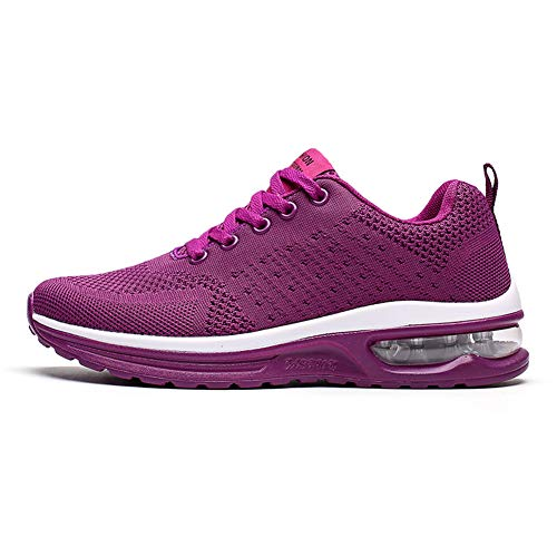 Axcone Uomo Donna Scarpe da Ginnastica Sportive Sneakers Running Basse Basket Sport Outdoor Fitness Sneakers-5066 PL 36