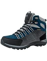 39fe5280d81 Botas de Senderismo y Campo para Mujers Zapatillas Altas de Trekking Zapatos  de Montaña Escalada Aire