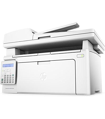 HP LaserJet Pro M130fn Laser Multifunktionsdrucker (Drucker, Scanner, Kopierer, Fax, LAN, Apple Airprint, HP ePrint, JetIntelligence, USB, 600 x 600 dpi) weiß