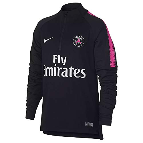 Nike PSG Y NK Dry SQD Dril Top Camiseta de Entrenamiento Paris Saint Germain, Unisex niños, Hyper Pink Black, XS