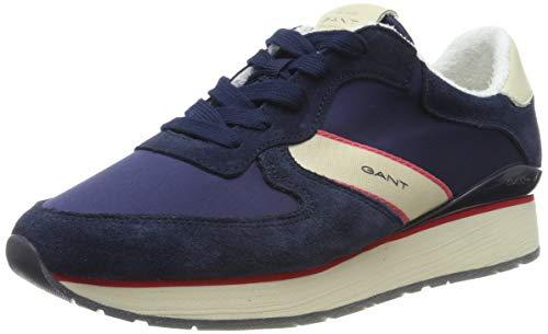 GANT Footwear Damen Linda Sneaker, Blau (Marine G69), 36 EU