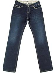 "ELEMENT "" Carlina"" femme jeans droit Jean (bleu foncé/navy)"