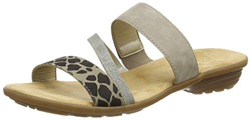 Riekerv3454 Women Mules - Sabots Femme Gris (gris (gris))