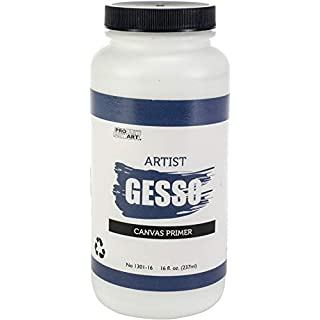 Pro-Art Gesso Premium Gesso Canvas Primer-16 Oz
