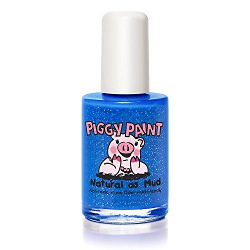Nagellack, SpankN Blau, 0,5 Flüssigunzen (15 ml) - Piggy Paint - Anzahl 1 (Aceton Freien Nagellack-entferner)
