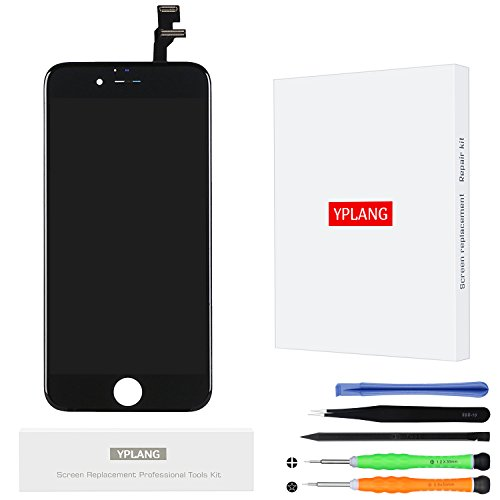 Display schermo per iphone 6 - yplang lcd sostituzione schermo completo assembly digitizer replacement kit incluso per iphone 6 4.7