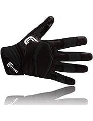 Cutters S451 Rev Pro 2D - Solid Gants de Football Américain noir