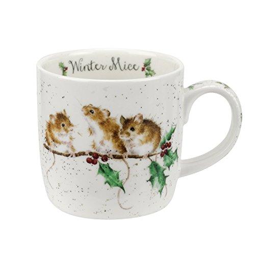 Wrendale Winter Mice (mice) Royal Worcester Fine Porcelain