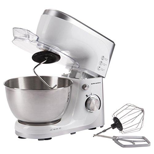 Ultratec 331400000688 Robot de cocina con recipiente para mezclar de acero inoxidable,...