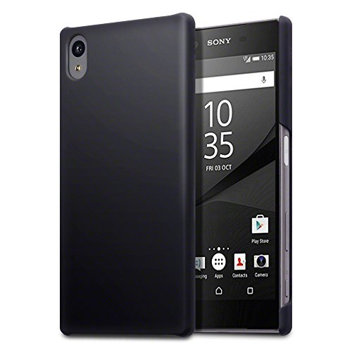 sony-xperia-z5-case-terrapin-extra-slim-fit-hybrid-rubberised-black-protective-hard-case-for-sony-xp