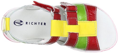 Richter Kinderschuhe 5004-11-1201, Sandales fille Rouge (Fire/Apple/Lemon 4111)