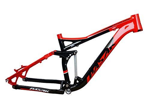 pasak Aluminium Legierung DH Hinterradfederung Weiche Schwanz Downhill Mountain Bike Langlauf Rahmen Frames -