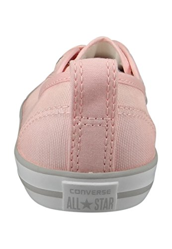 Converse Chucks Ballerina 551656C Gris Dainty All Star Ballet dentelle Souris Blanc Noir Vapor Pink White Mouse