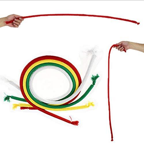 LeoboodePortable Magic Rope Weiche Harte Biegung Seil Leichte Steife Seil Zauberer Requisiten Spielzeug Universal Magic Trick Spielzeug