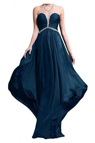 TOSKANA BRAUT -  Vestito  - linea ad a - Donna Bleu - Tinte Blau