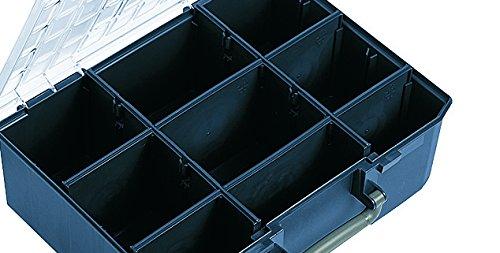raaco Sortimentskoffer CarryLite 150-9, blau, 136341 - 2