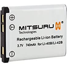 Mitsuru® batería para Aldi LI-42B LI42B BenQ LI-42B LI42B General Electric