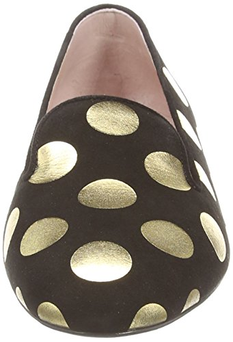 MOSCHINO Spot, Ballerines femme Noir (Cd000A Blk/Gold)
