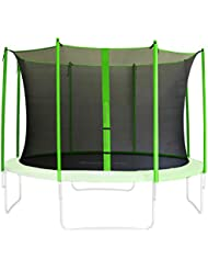 SixBros. Filet de sécurité de rechange vert pour trampoline de jardin 1,85m - 4,60m - dimensions différentes - SN-IN/1955 - Taille 4,30 m 5L