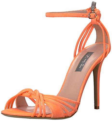 SJP by Sarah Jessica Parker Damen Willow Riemchensandalen Orange (Creamsicle Orange Suede)